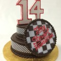 Tony Stewart Foundation Chocolate Smash Cake